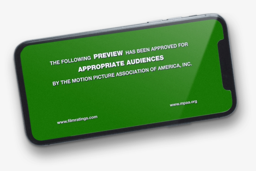 Even If You've Made An Award-winning Film, It Could - Following Preview Has Been Approved, transparent png #1783322
