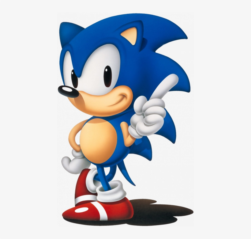 """""""we At Sonic Team Are Developing A Completely New Game, - Sonic The Hedgehog 1991 Png, transparent png #1783664"""