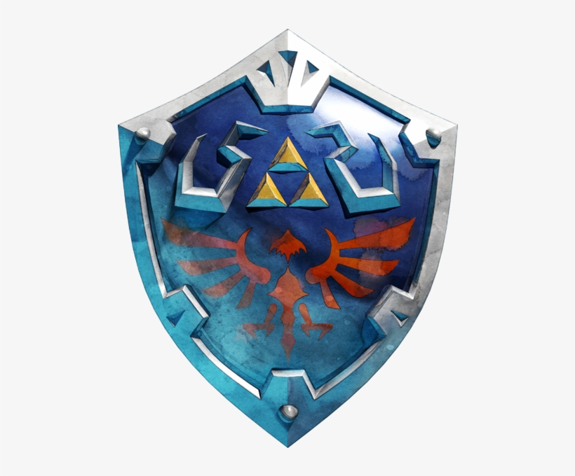 Zelda Icons - Google Search - Master Sword And Hylian Shield Breath, transparent png #1784046