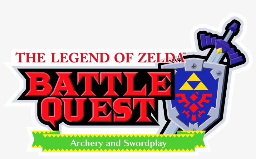 Zelda Battle Quest Logo - Legend Of Zelda Battle Quest, transparent png #1784396