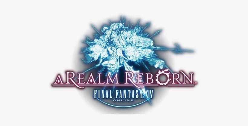 Final Fantasy Xiv A Realm Reborn - Final Fantasy 14 Logo, transparent png #1785184