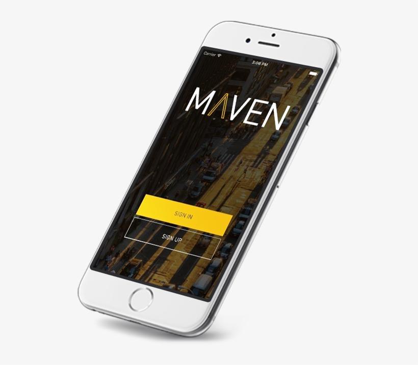 The Maven App - Maven Car Sharing App - Free Transparent PNG