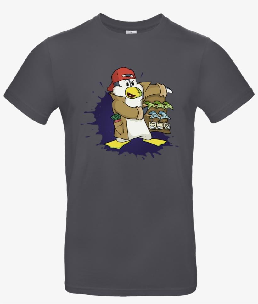Pingu Dealt T-shirt B&c Exact - B&c Exact 190, transparent png #1787025