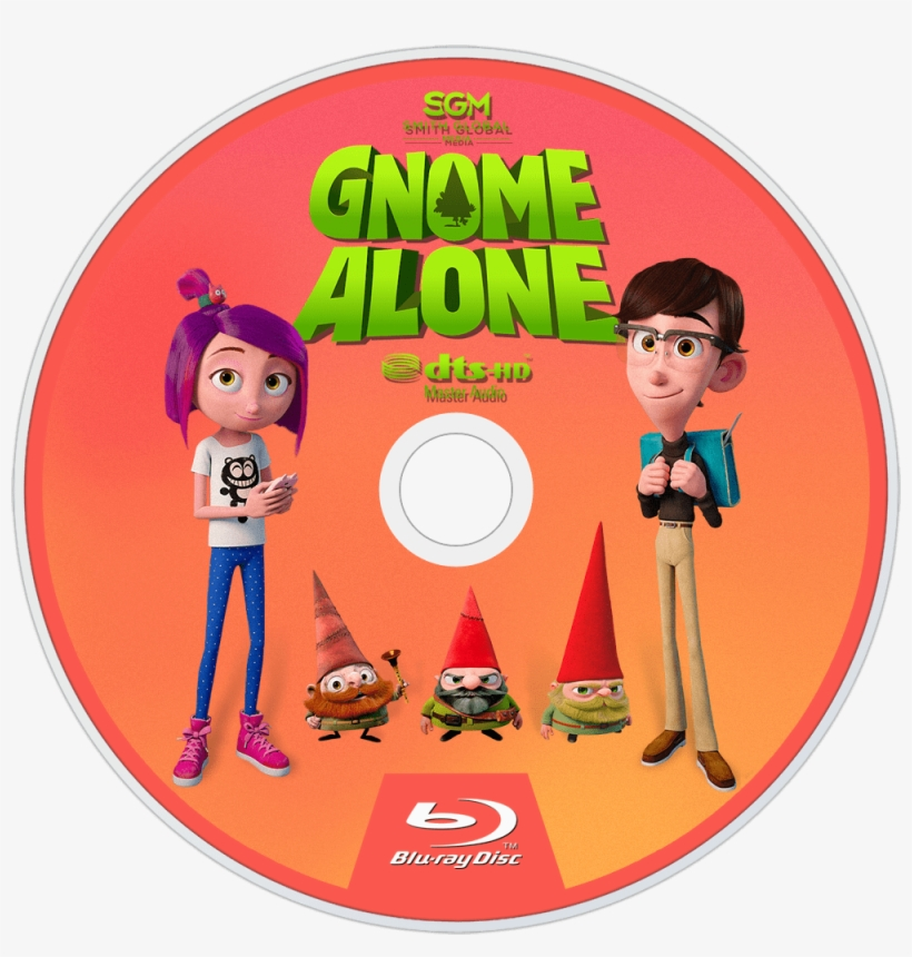Gnome Alone Bluray Disc Image - Blu-ray Disc, transparent png #1787416