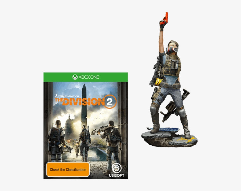 Tom Clancy's The Division 2 Dark Zone Collector's Edition - Division 2 Dark Zone Edition, transparent png #1788258