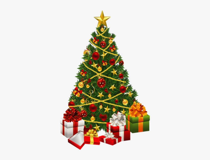 Christmas Tree Clipart Transparent Background - Animated Moving Christmas Tree, transparent png #1788831