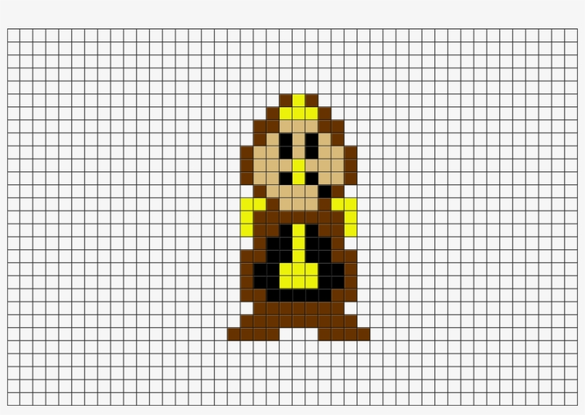 Pixel Art Beauty And The Beast Free Transparent Png