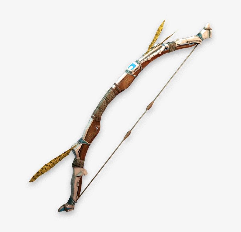 Svg Free Library Archery Drawing Base - Horizon Zero Dawn Hunter Bow, transparent png #1792415
