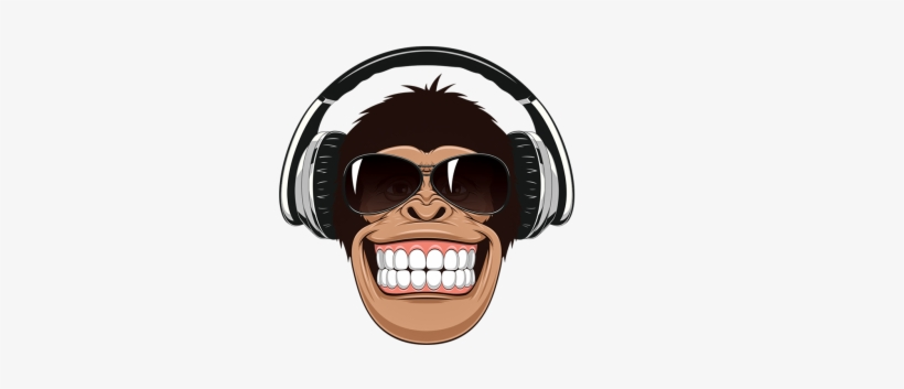 Funny Monkey Face Cartoon Free Transparent Png Download Pngkey