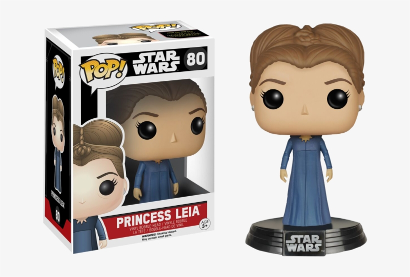 Star Wars Episode Vii - Funko Pop Star Wars Princess Leia, transparent png #1794743