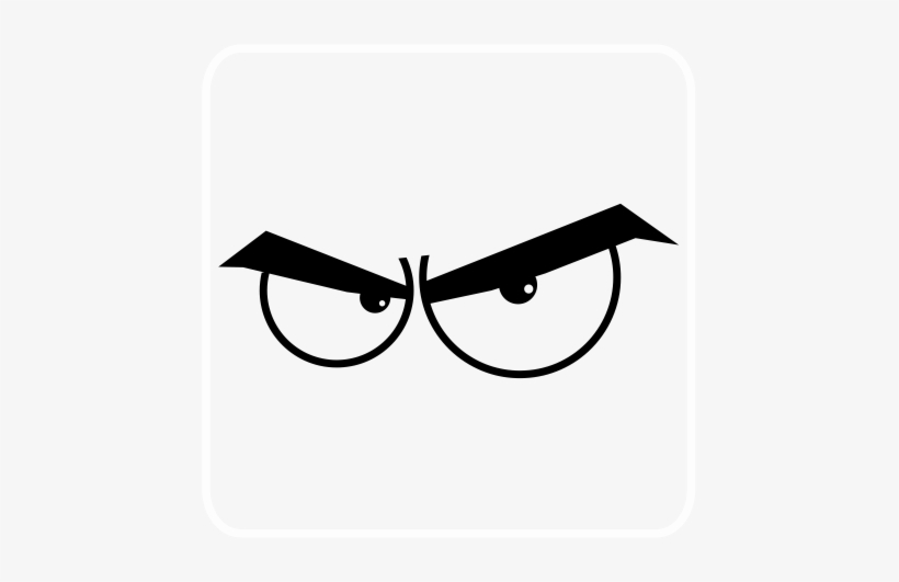 Angry Cartoon Eyes Angry Eyes Cartoon Png Free Transparent Png