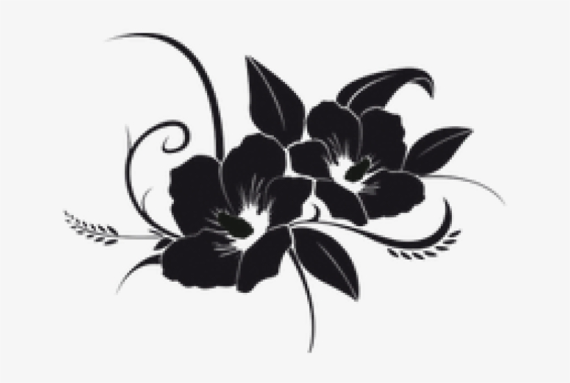 Tropical Flower Tattoos, transparent png #1796499