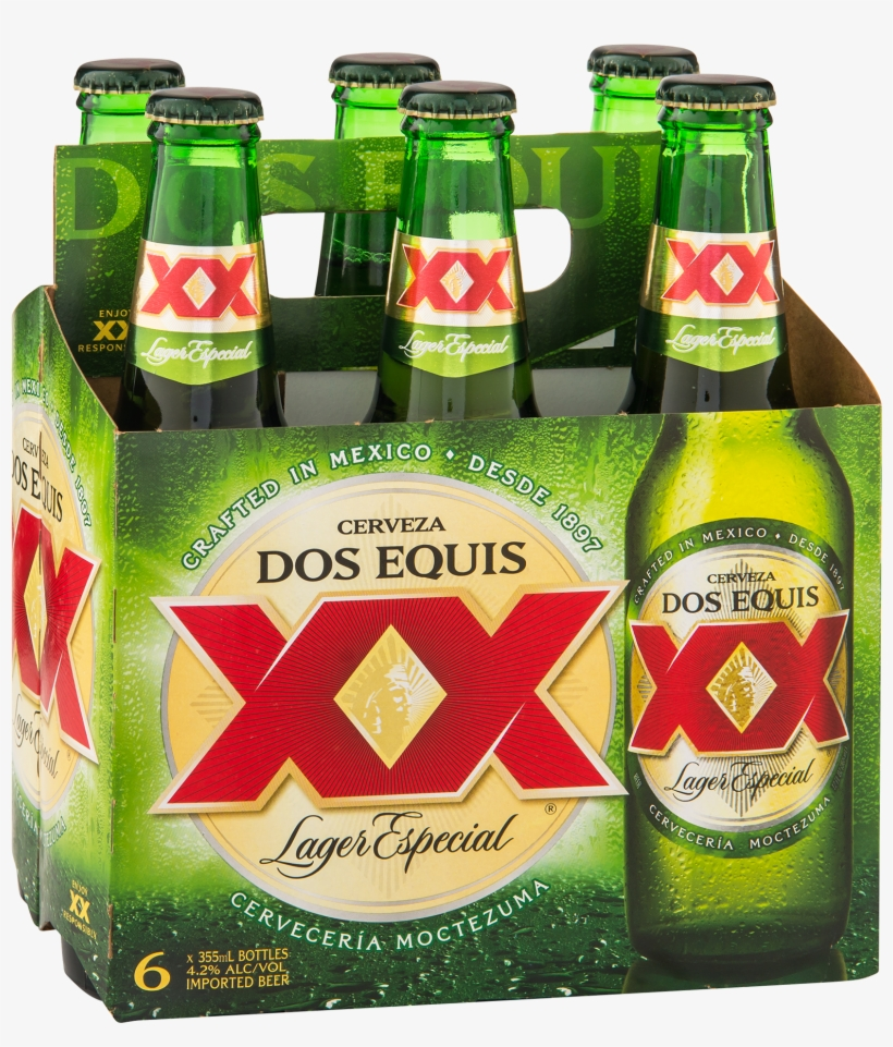 Dos Equis Lager Especial 6 Pack - Dos Equis 6 Pack - Free