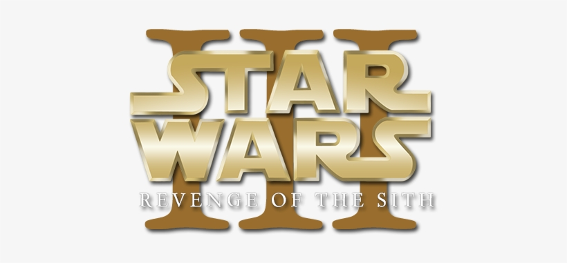 Revenge Of The Sith Logo Starwars Episode Logo Png Free Transparent Png Download Pngkey
