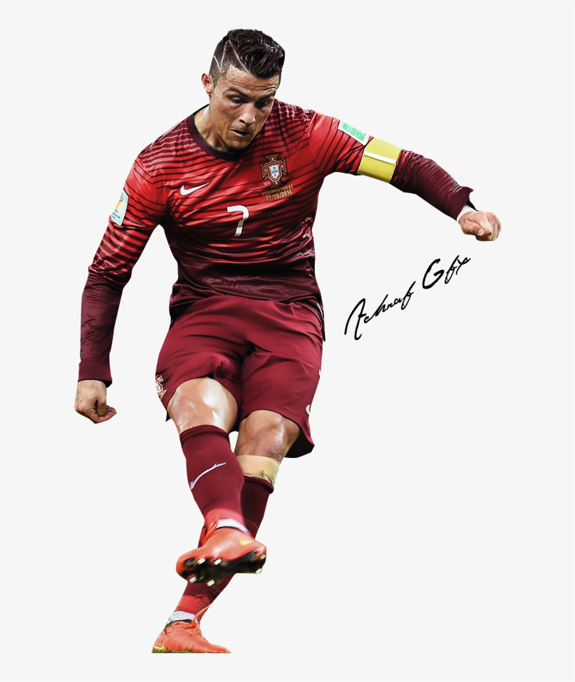 Drawing Messi Cr7 - Cristiano Ronaldo Portugal Png, transparent png #1798450