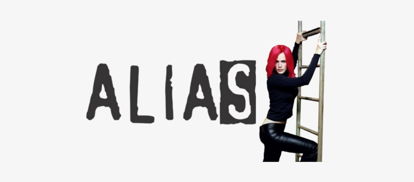 Image Result For Alias Tv Logo - Alias Tv Show, transparent png #1798648