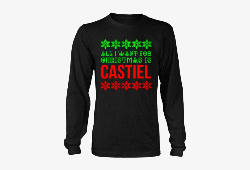 All I Want For Christmas Is Castiel - Senior Shirt Designs 2019, transparent png #1799663