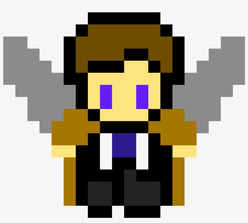 Castiel Pixel Art De Marvel Faciles Free Transparent Png