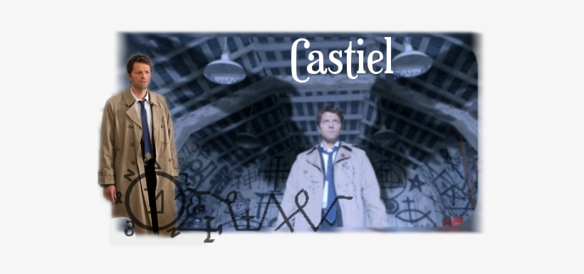 Supernatural Makeup Castiel