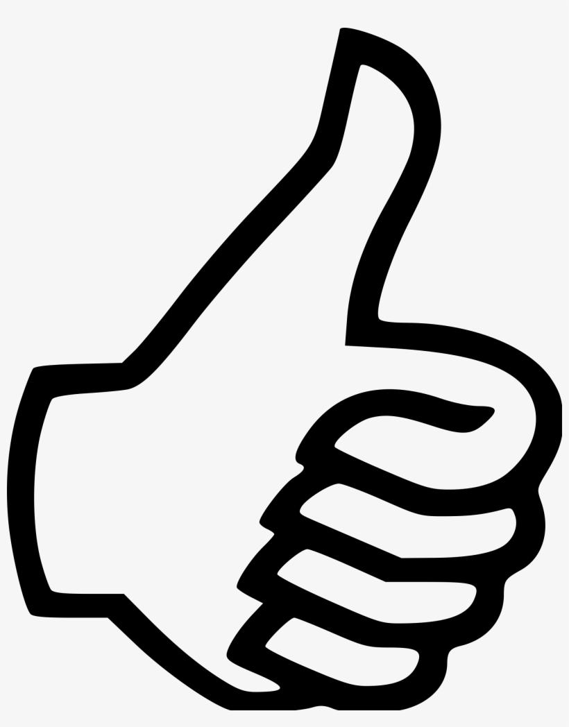 Symbol Thumbs Up Clip Art At Vector Clip Art - Thumbs Up Clipart Transparent Background, transparent png #180068