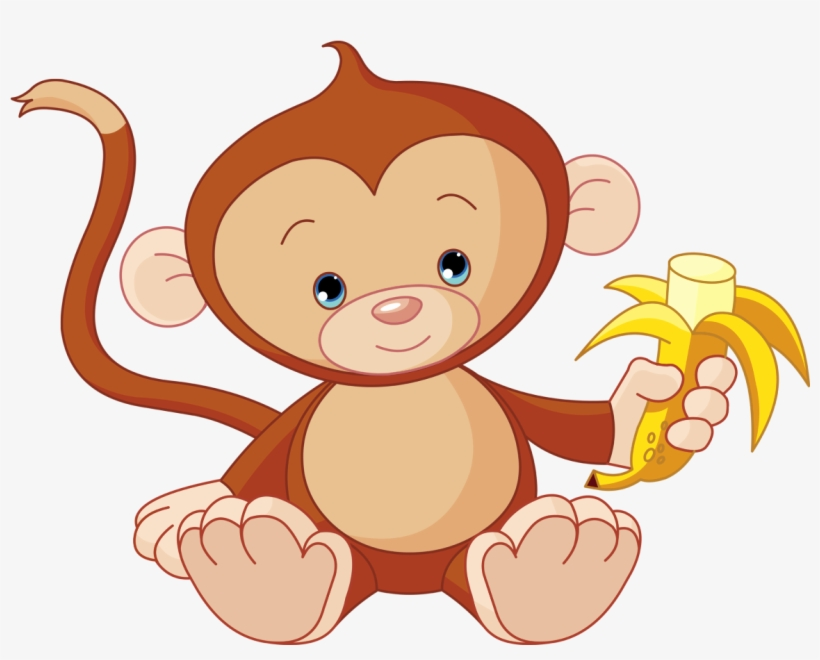 Baby Monkey Clip Art, transparent png #180544