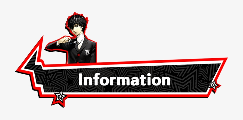 [ Img] - Persona 5 Protagonist Uniform Cosplay Costume Custom, transparent png #181624