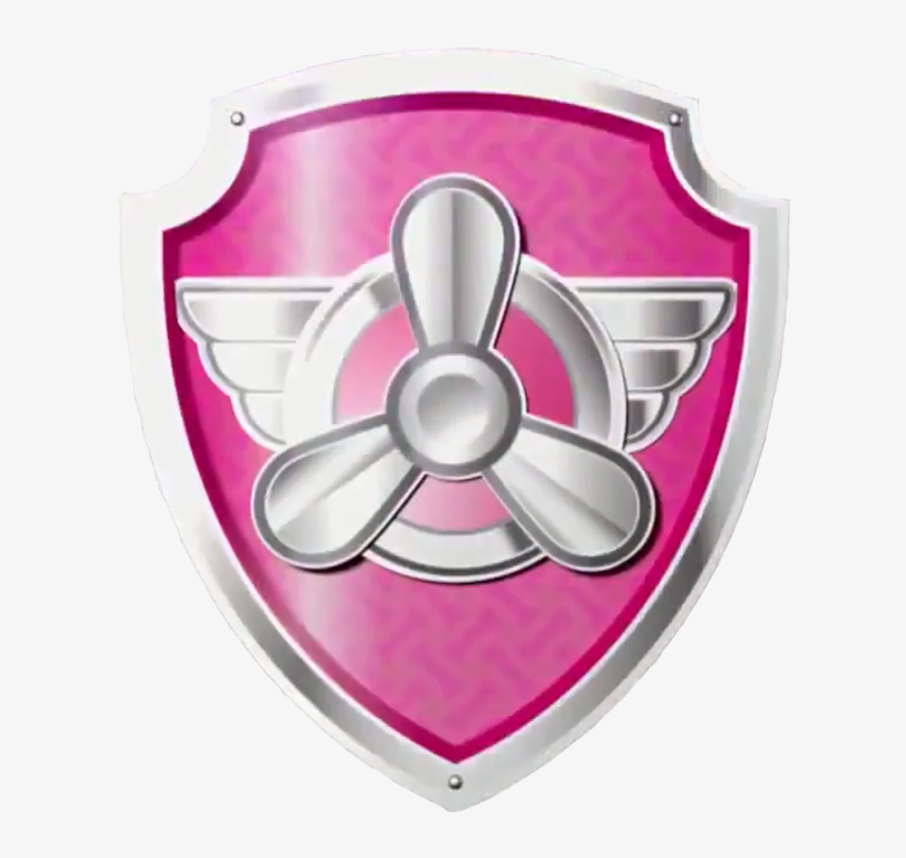 Skye S Pup Tag Paw Patrol Badge Skye Free Transparent