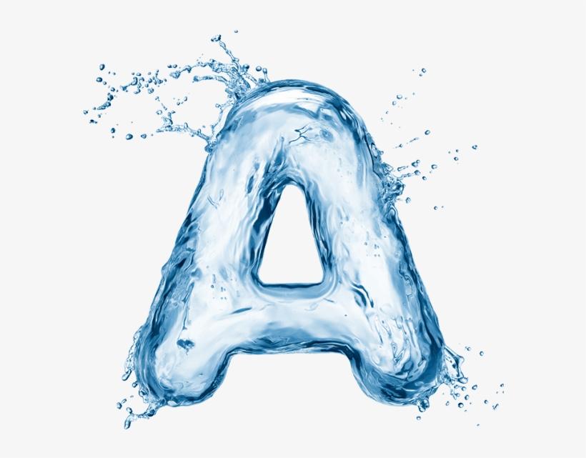 Water Splash Font, transparent png #184970