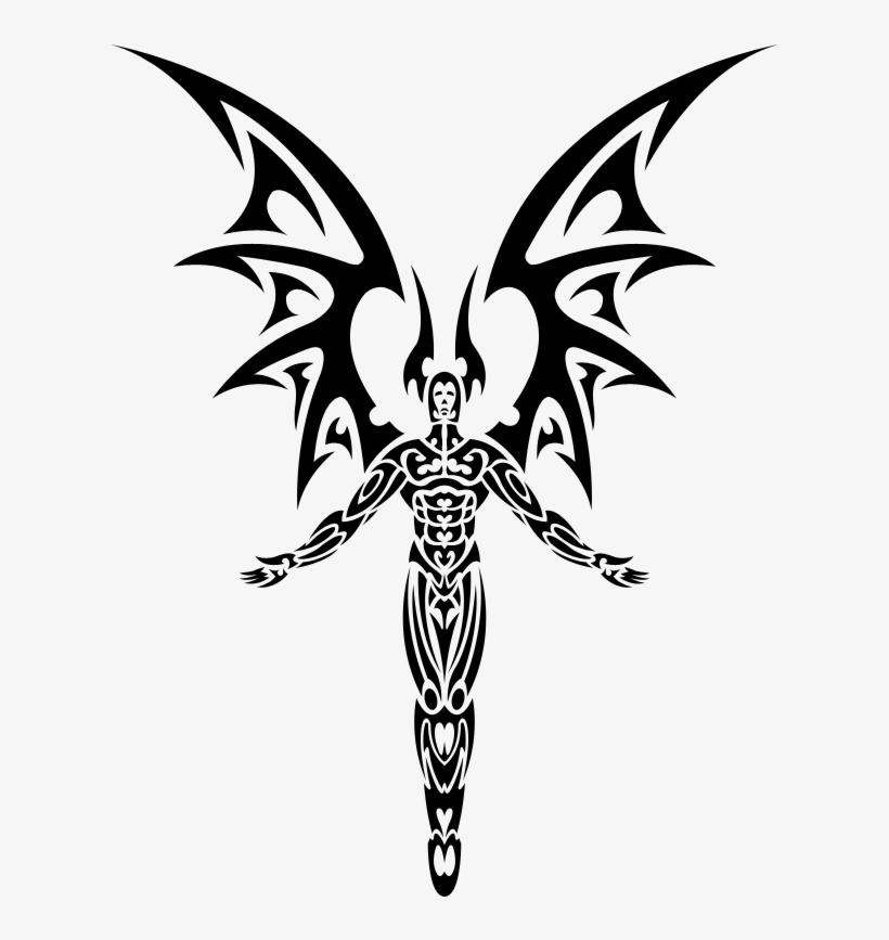 d59c7d0bb Demon Tattoo Png Clipart Library Library - Tribal Devil Tattoo ...
