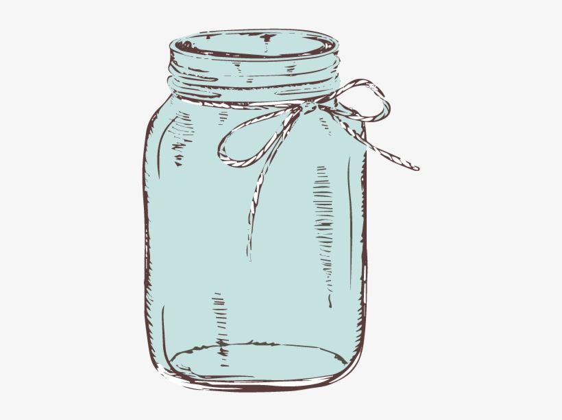 Mason jar teal. Graphic library download with