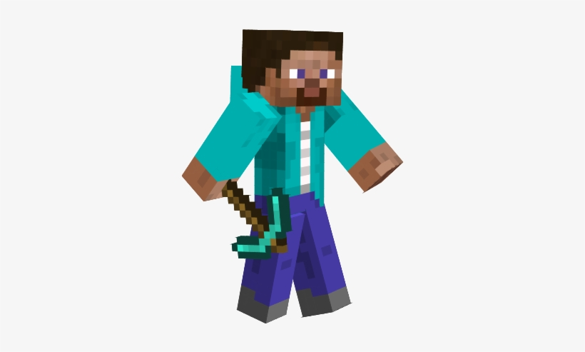 Layouts E Templates Para Blogs E Lojas Virtuais Minecraft - Minecraft Skin Pro Steve, transparent png #186585
