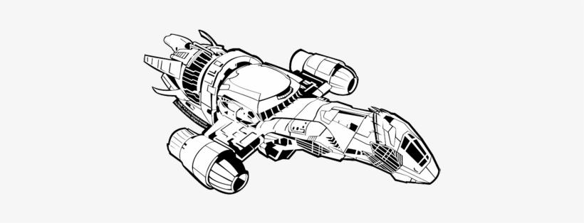 Serenity Ship Drawing Firefly Serenity Ship Drawing - Firefly Serenity Ship Drawing, transparent png #186862