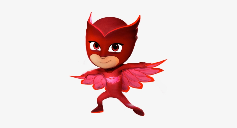 At The Movies - Pj Masks Owlette Png, transparent png #186912