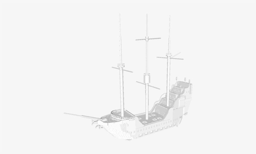 Pirate Ship Model - Portable Network Graphics, transparent png #187468