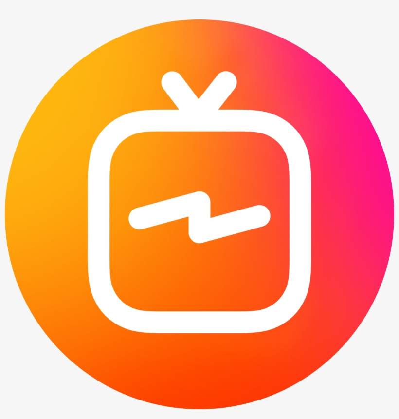 Instagram Igtv Logo Circle Png Transparent - Igtv Logo, transparent png #187710