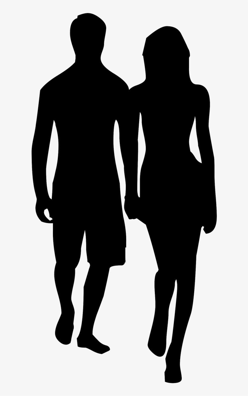 Couple Holding Hands Outline, transparent png #189142
