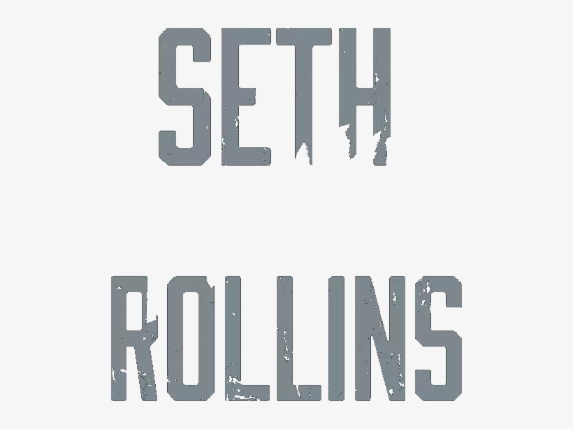 "Does Anyone Know The Font On This Image That Says ""seth - Seth Rollins Logo Png, transparent png #189143"