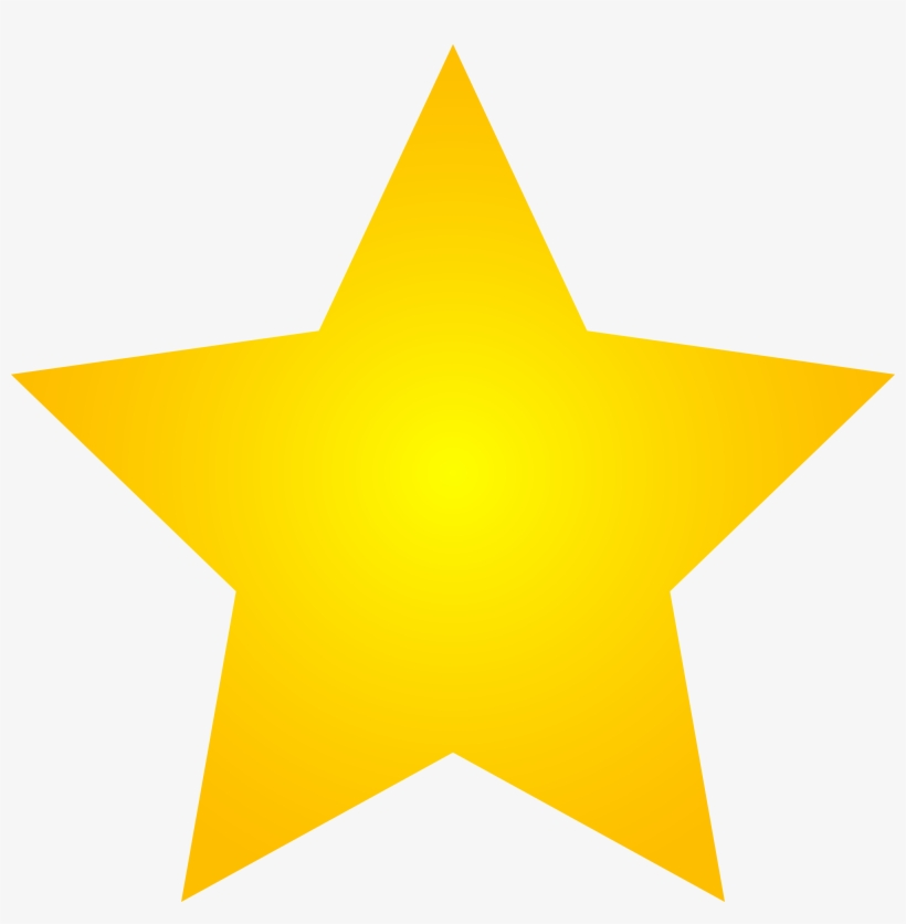 Pictures Of Gold Stars - Gold Star Clipart, transparent png #189659