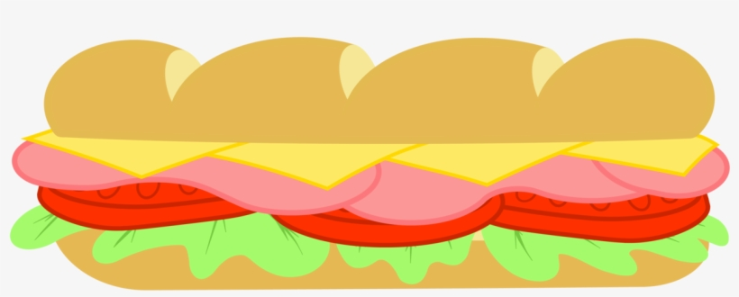 Svg Free Library Collection Of Subway High Quality - Transparent Background Sandwich Clipart, transparent png #1802313