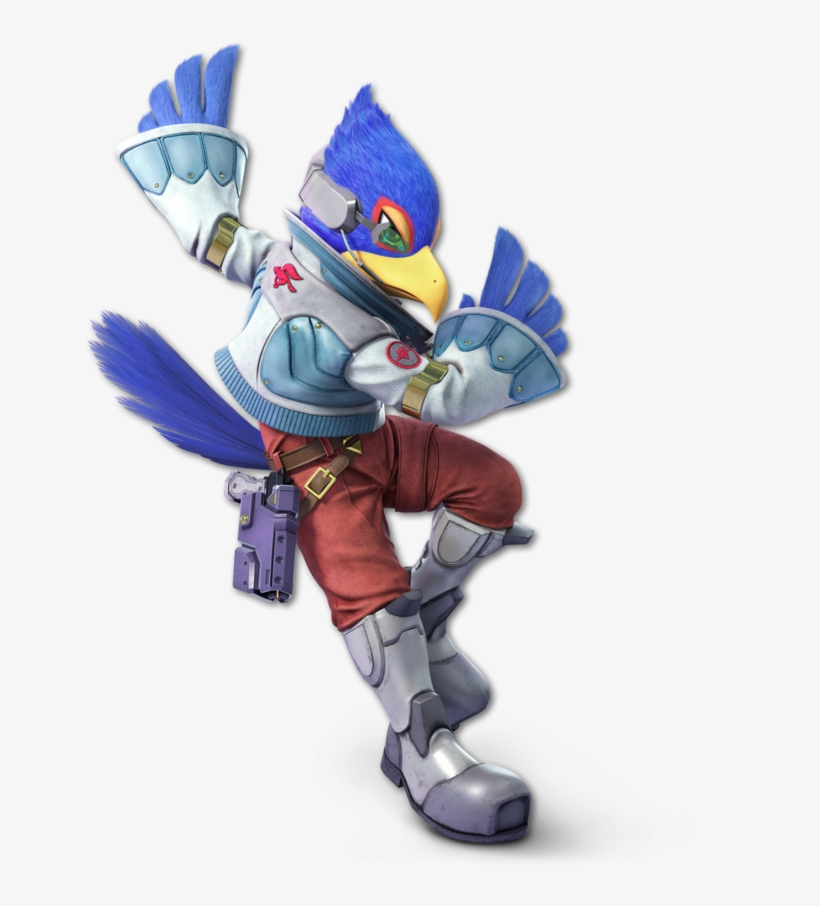 Here Are All Of The Characters So Far Revealed For - Super Smash Bros Ultimate Falco, transparent png #1802376