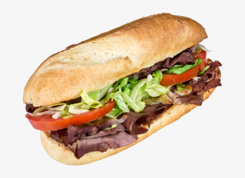 Roast Beef Roast Beef, Cheese Blend, Lettuce, Tomato, - Steak Sandwich With Lettuce And Tomato, transparent png #1802888