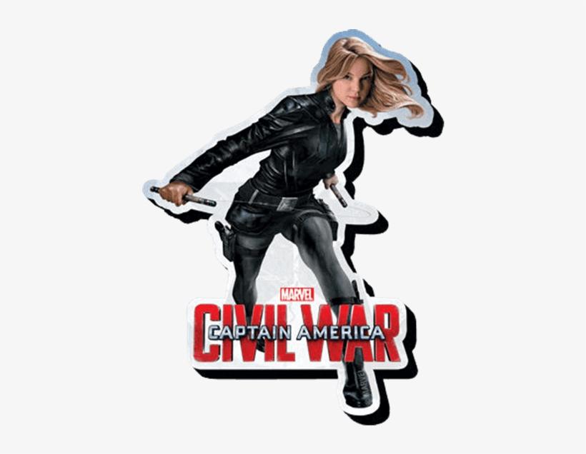 Marvel Civil War Agent 13 Magnet - Captain America Civil War Magnets, transparent png #1803003