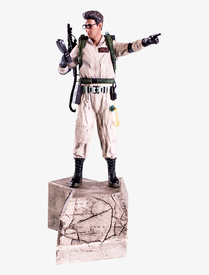 """84"""" Ghostbusters Statue Egon Spengler - Ghostbusters - Dr Egon Spengler 1:10 Scale Statue-iro53205, transparent png #1803565"""