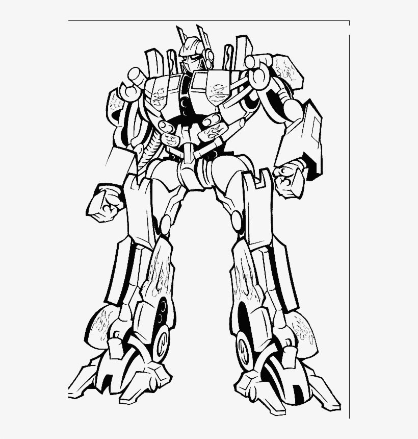 Transformer Drawing - Optimus Prime Transformers Coloring Pages ...