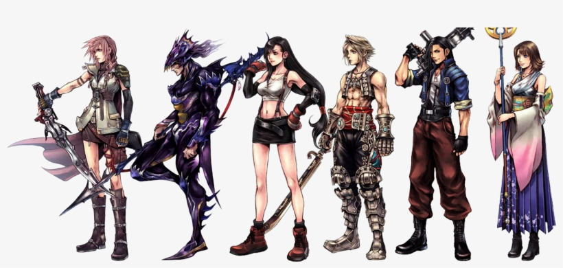 Art - Final Fantasy Character Design, transparent png #1805091