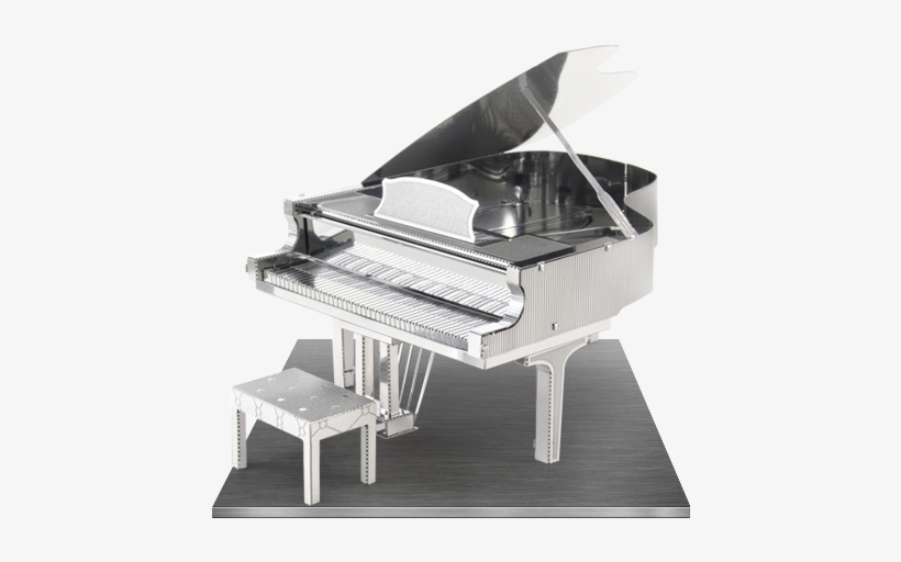 Picture Of Grand Piano - Fascinations Metal Earth 3d Laser Cut Model - Grand, transparent png #1805497
