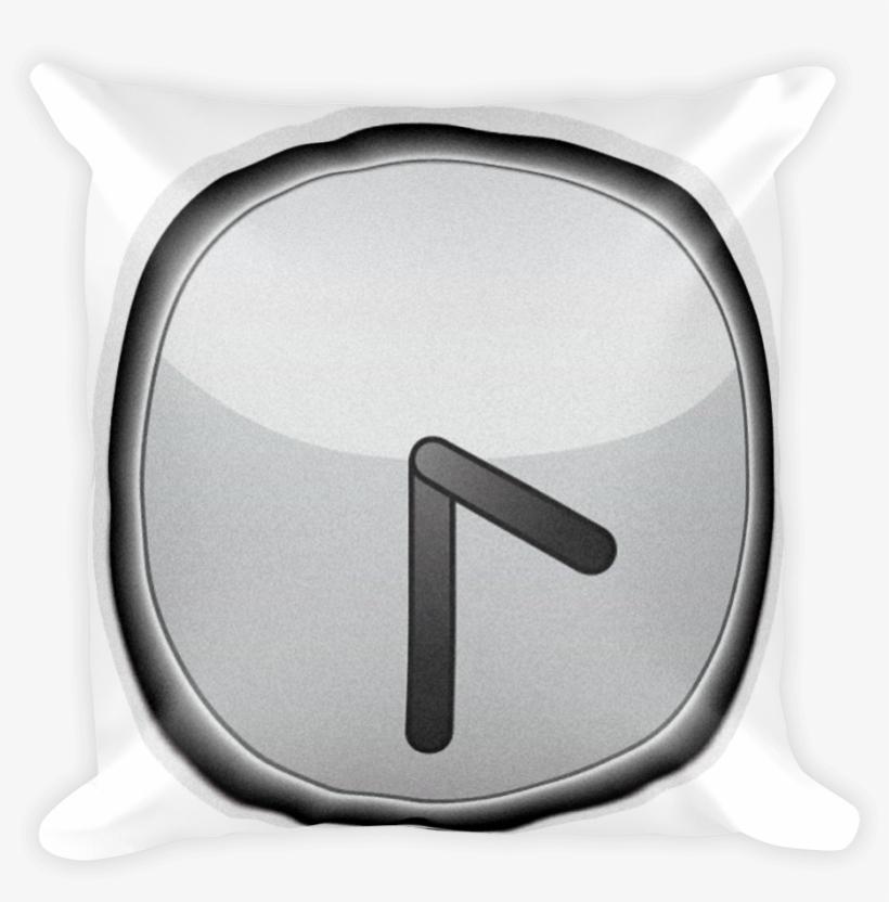 Clock Face Four Thirty-just Emoji - Sign, transparent png #1808475