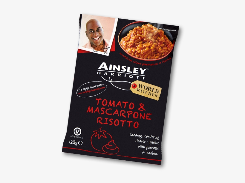 Tomato & Mascarpone Risotto - Ainsley Harriott 3 Pack Cup Soup - Vegetable Chowder, transparent png #1808639