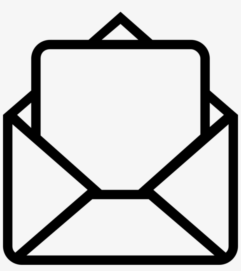Email Symbol Clipart Email Computer Icons Bounce Address - Opened Email Icon Png, transparent png #1809053