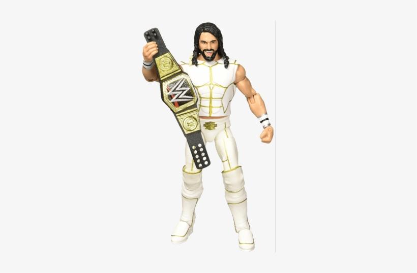 Chris Depetrillo, Figures Toy Company Rollins - Mattel (ma) Wwe Elite Collection Seth Rollins Figure, transparent png #1809474